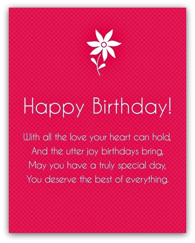 Happy Birthday Poems For Friends Or Mom Dad Sister And Brother Birthday Poem For Friend Happy Birthday Quotes For Friends Happy Birthday Quotes