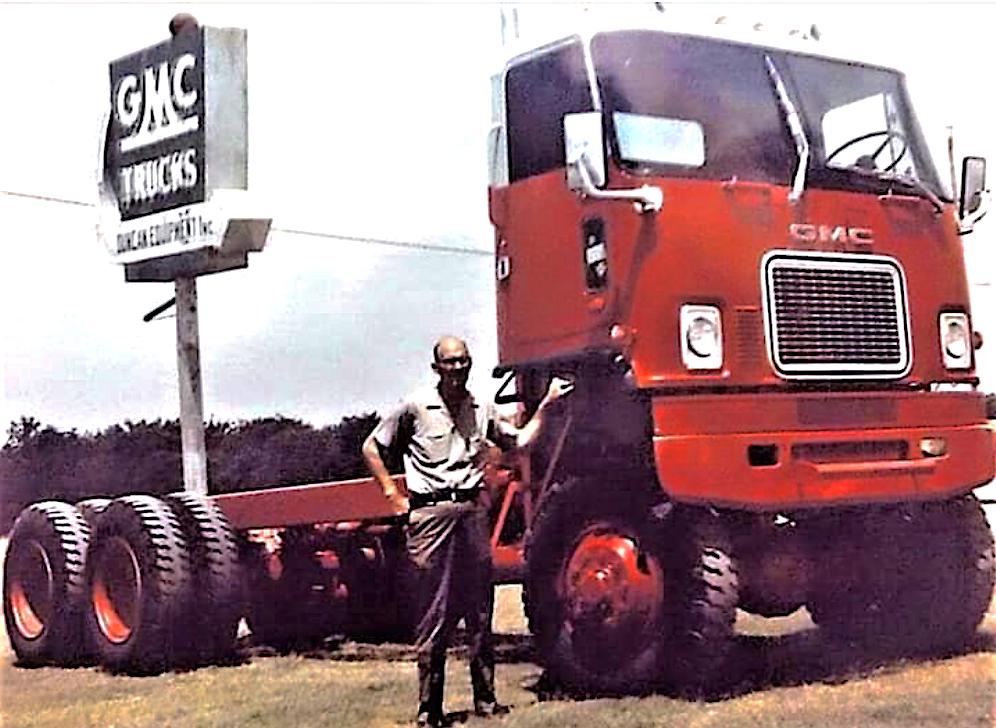 1970s Coleman Gmc Astro 95 Coe 6x6 Truck Big Trucks Big Rig