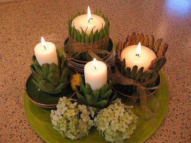 Veggie Wrap Candle