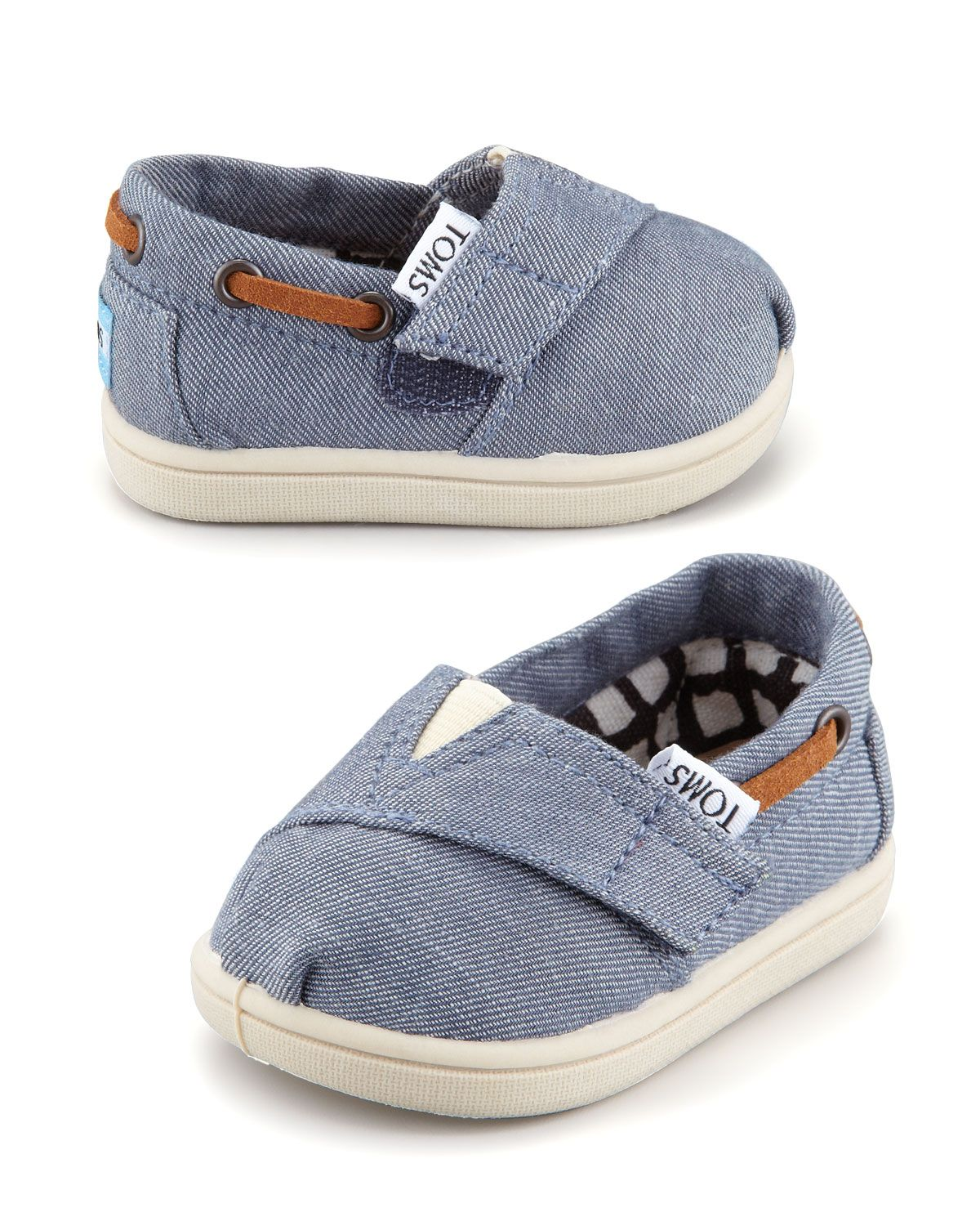 Humor Toms Romper Shoes In Blue In Style; Infant Size 9 Fashionable