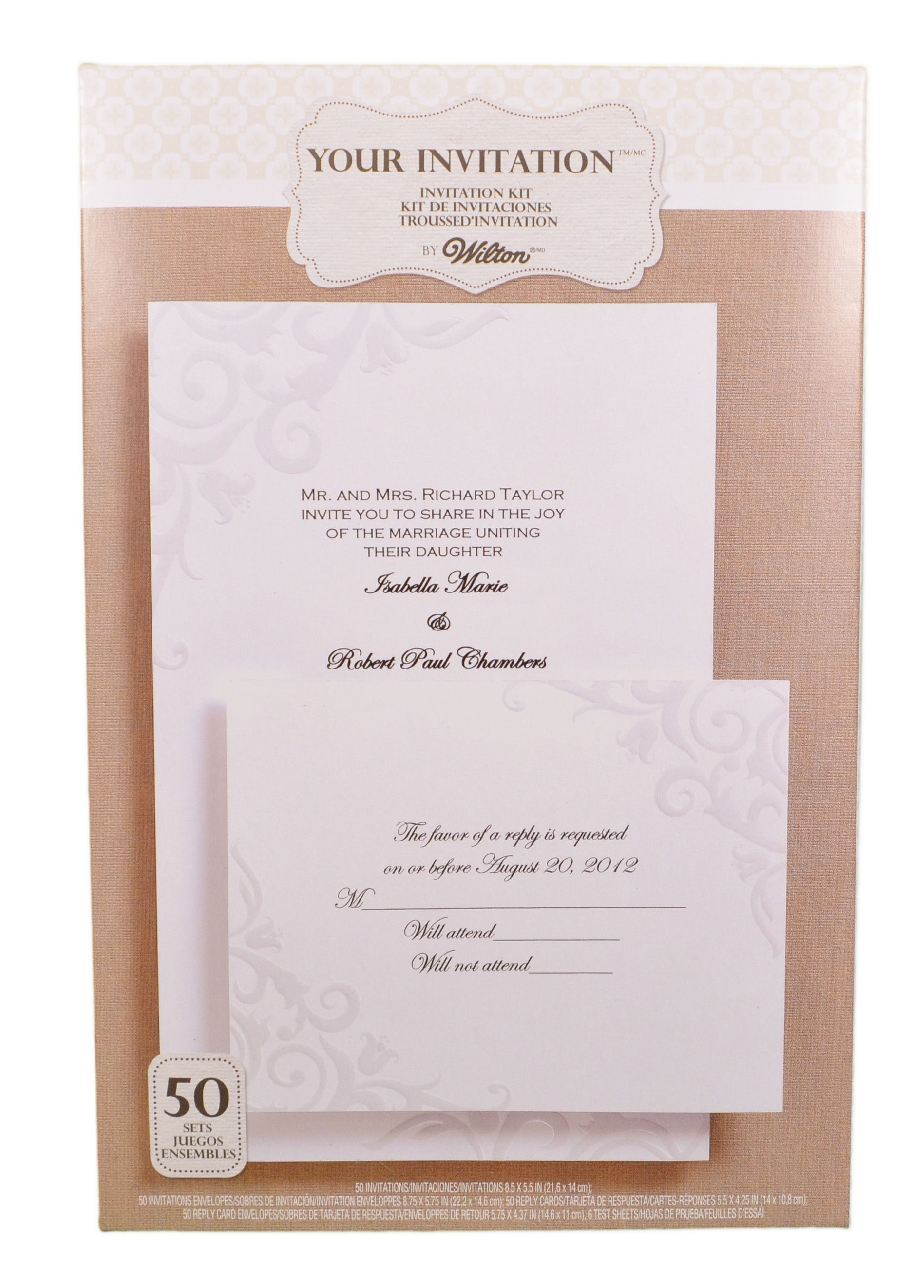 Tips Wilton Wedding Invitations Ideas with graceful appearance for