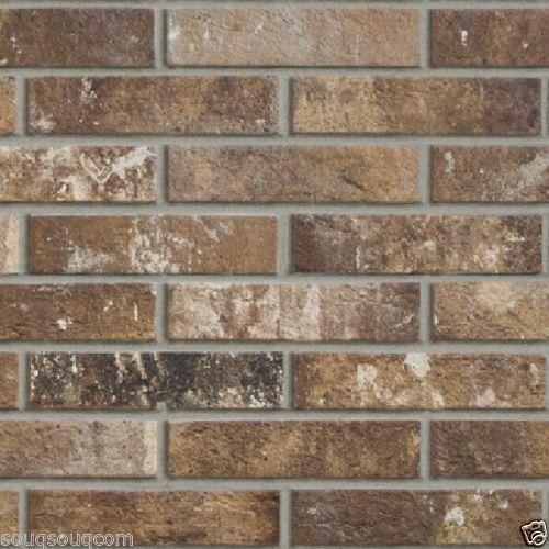 Camden Original Brick Red Bricks Porcelain Anti Slip Wall