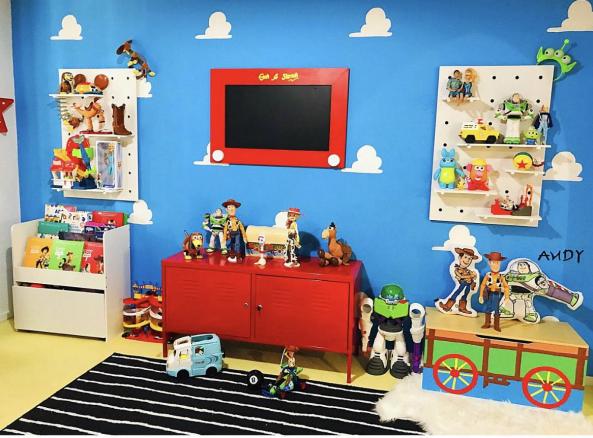 Diytoys Diy Toys Diy Toy Story Room Decor In 2020 Toy Story Room Toy Story Bedroom Toy Story Nursery