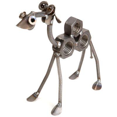 Metal yard art animals hanging possum sculpture yardbirds by richard kolb craft ideas - Simple metal art projects ...