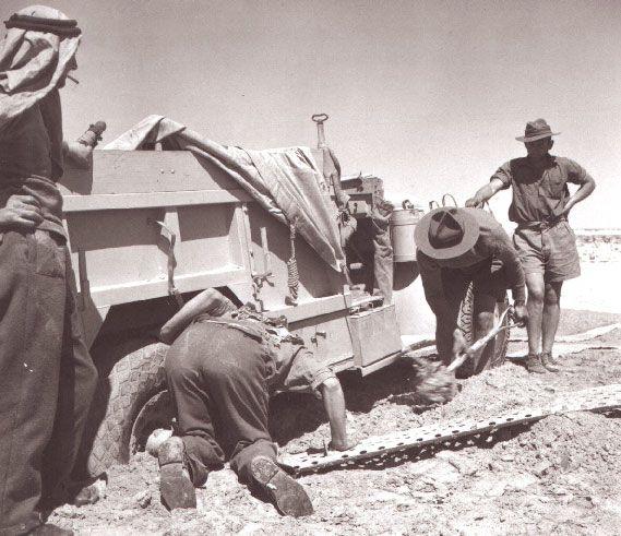 LRDG Long Range Desert Group The Kit Bag