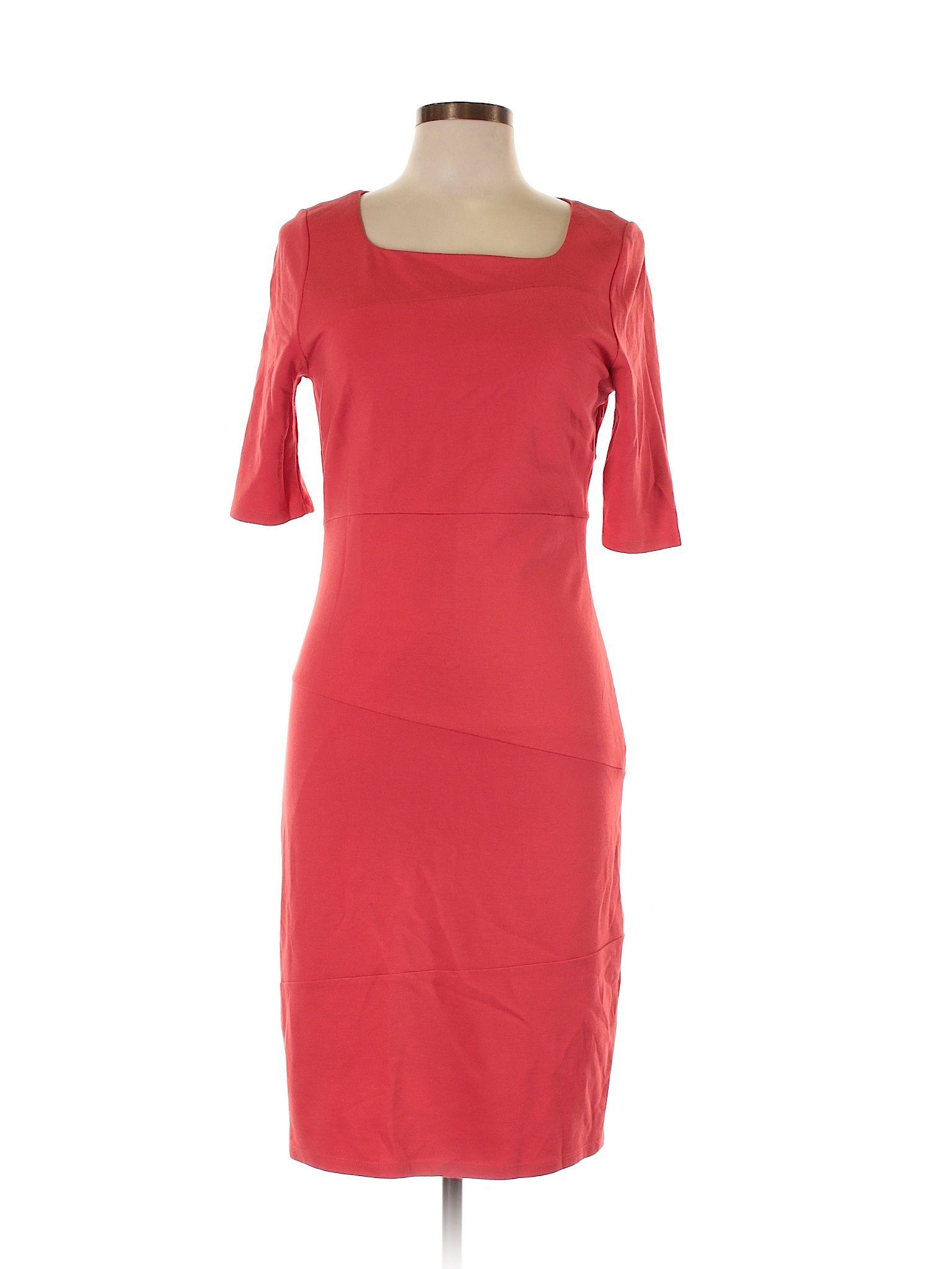 Lk Bennett Casual Dress Size 800 Coral Womens Dresses