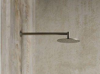 Vasca Da Bagno Acciaio Prezzi : Soffione a muro in acciaio brezza soffione rexa design