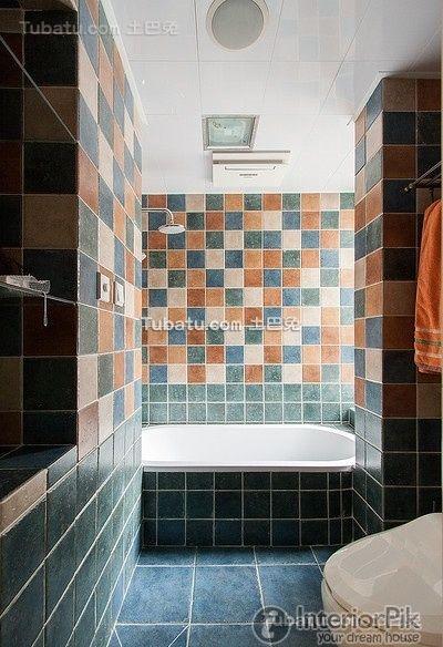 Style Korean Home Design Bathroom