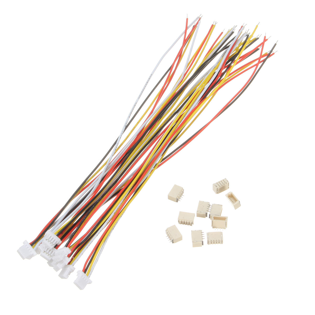 10 SETS Mini Micro SH 1.0 7-Pin JST Connector with Wires Cables