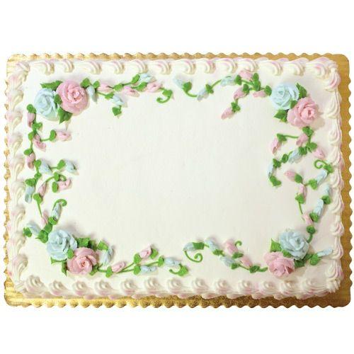 Cake Designs Wegmans : Wegmans 1/2 Sheet Celebration Cake Wegmans USD29.99 ...