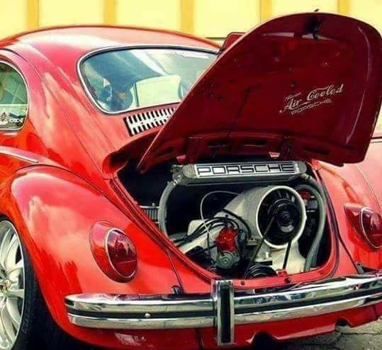 Porsche 911 Engine Vw Beetle: Volkswagen Beetle, Con Motor Porsche Boxster