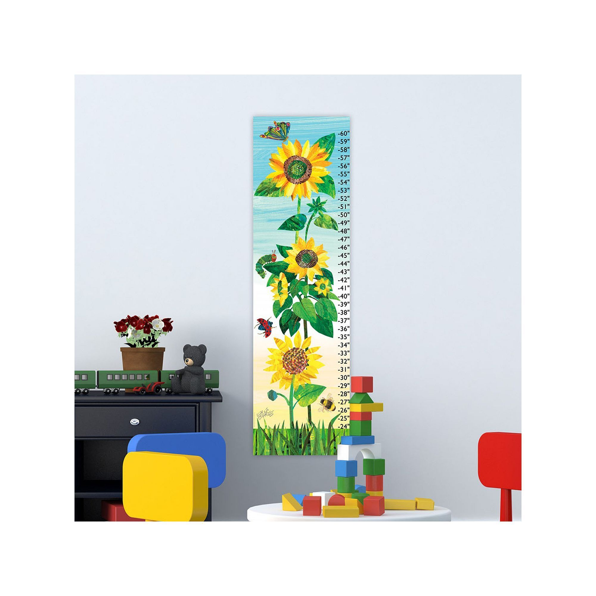 Marmont hill eric carle insects and flowers wall growth chart marmont hill eric carle insects and flowers wall growth chart multicolor nvjuhfo Choice Image