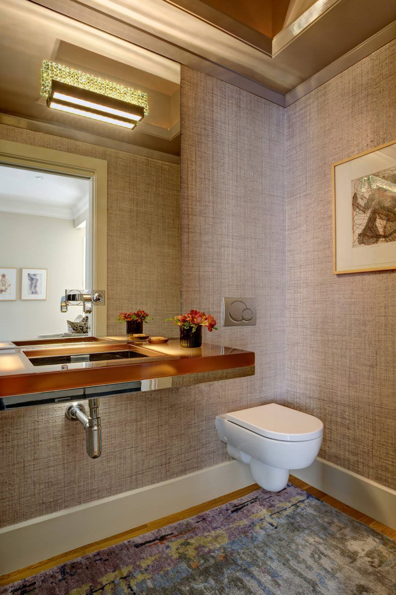 41 Cool Half Bathroom Ideas And Designs You Should See ...