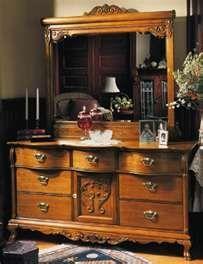 Best Lexington Victorian Sampler Collection Door Triple Dresser 640 x 480