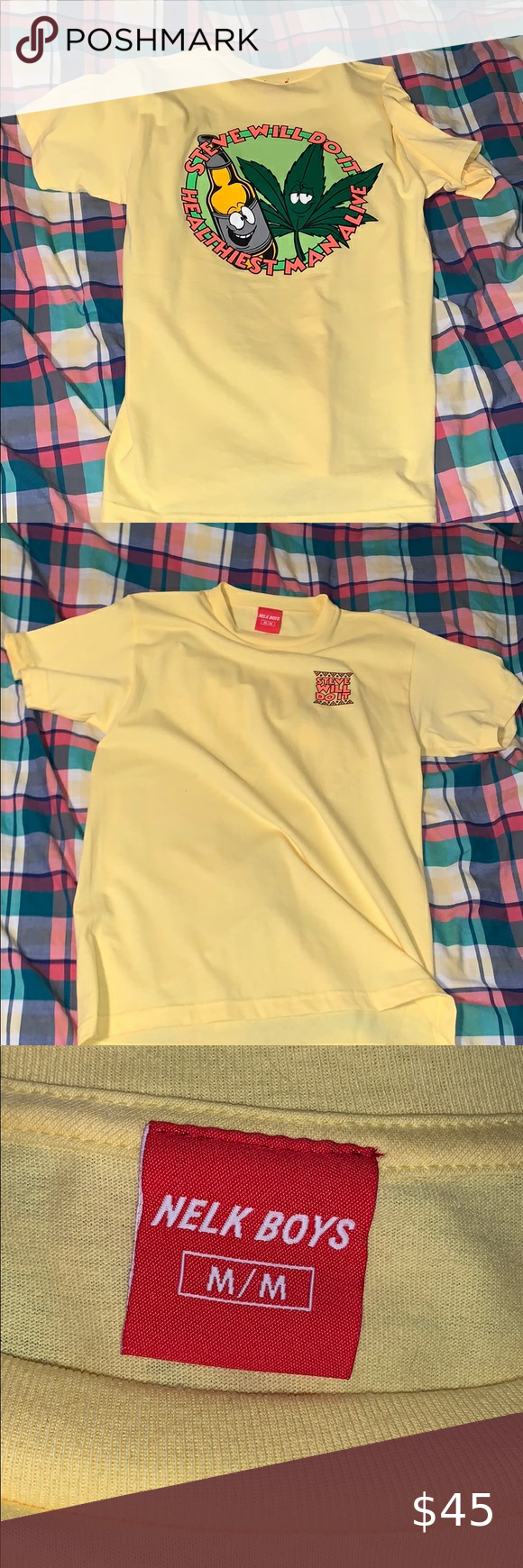 Stevewilldoit Nelk Boys Shirt Size M In 2020 Boys Shirts Supreme Shirt Shirt Size His birthday, what he did before fame, his family life, fun trivia facts his stevewilldoit instagram account has surpassed 2.5 million followers. stevewilldoit nelk boys shirt size m in