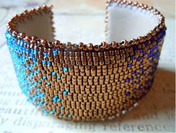 How to Cover a Bracelet Blank_tutorial by Jodie Marshall