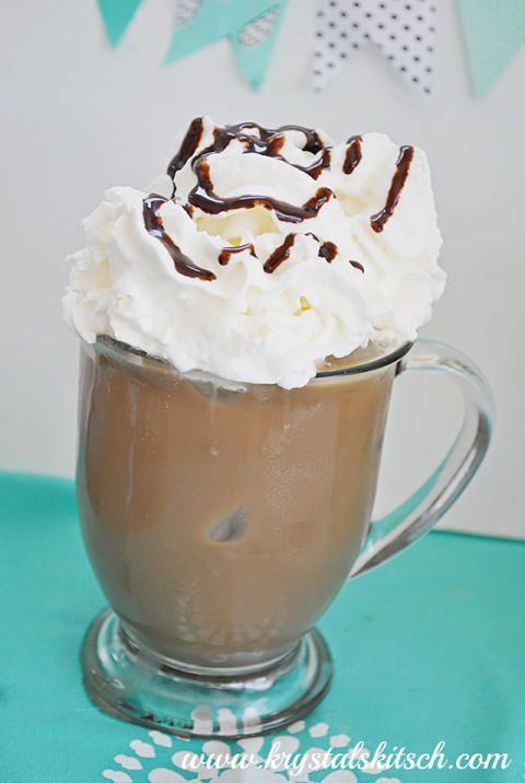Peppermint Mocha Iced Coffee Recipe