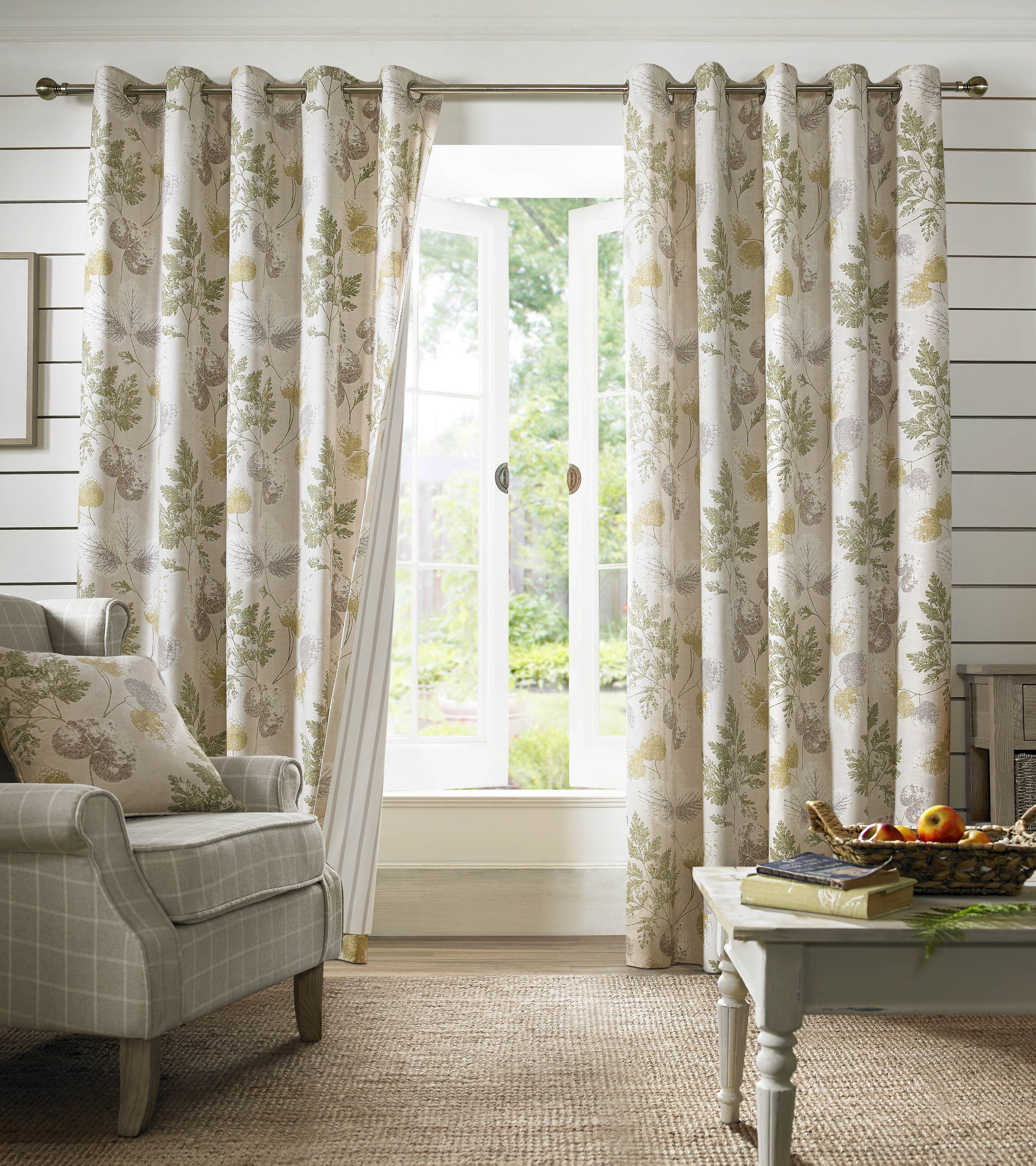 fabric almond house shimmer made ready preview curtains eyelet curtain product of