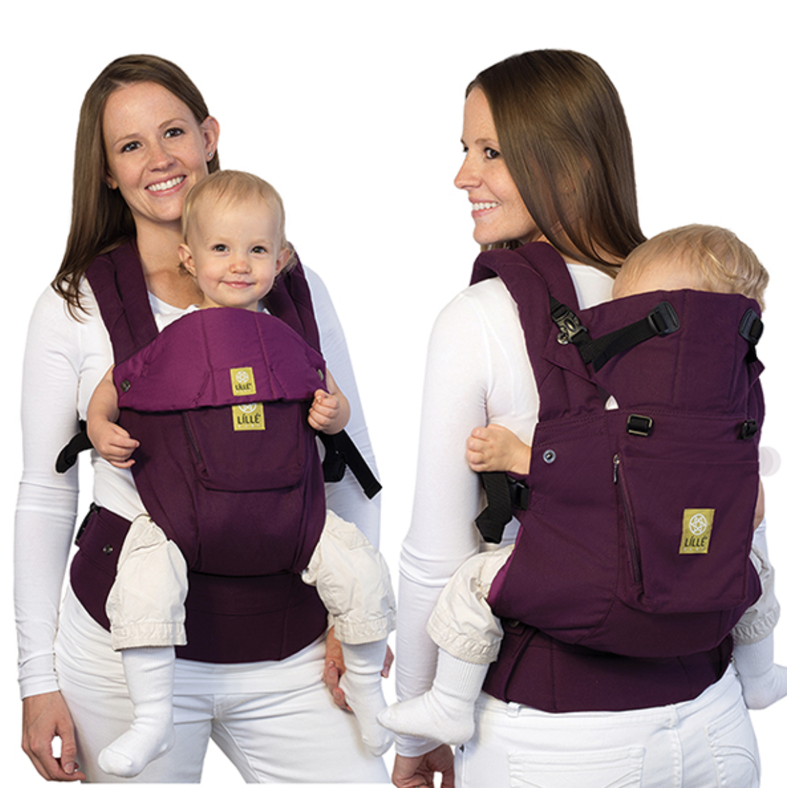 12b382b3bfc Purple Pink Original Complete  lillebaby- Purchased FOUR on the hunt for  the perfect one! (Kept one)