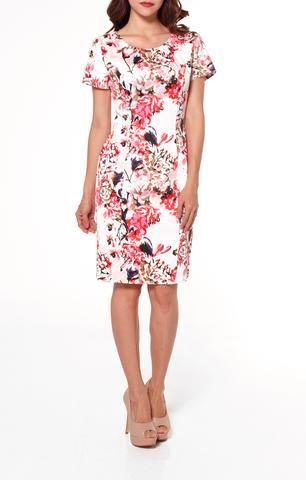 Vestido de Fiesta Palo de Rosa. RIMINI Couture