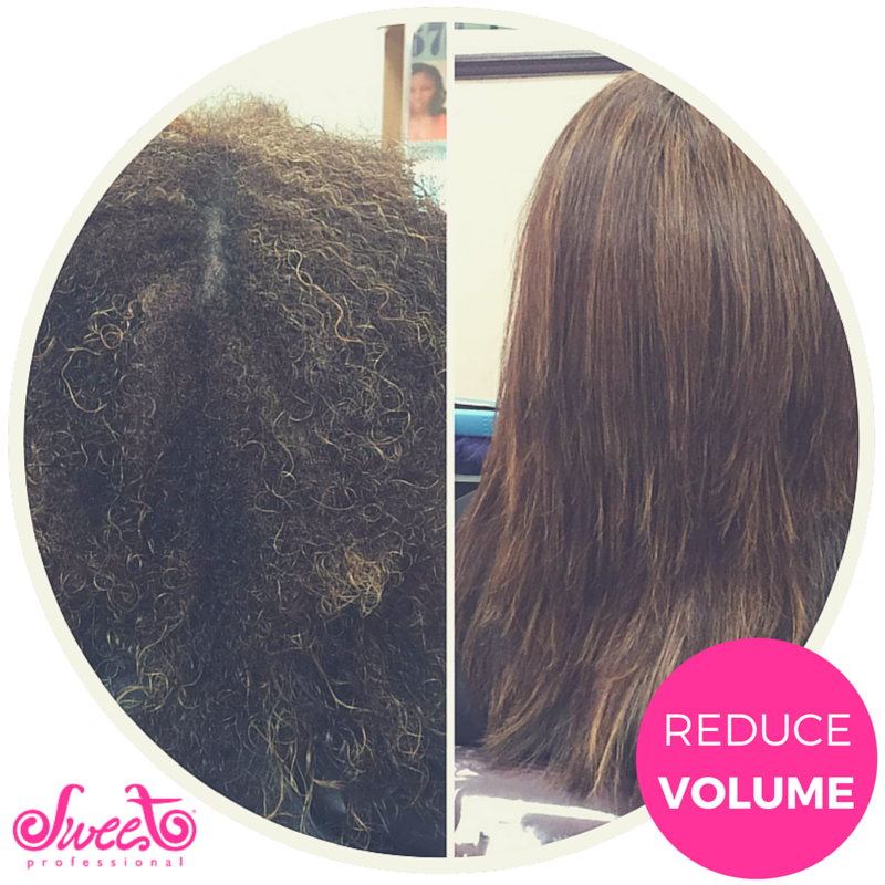 Achieve this look with our Sweet Straightening system ...