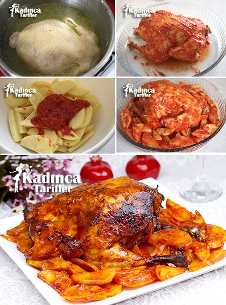 Fırında Soslu Bütün Tavuk Tarifi, Nasıl Yapılır? - Kadınca Tarifler - Lezzetli, Pratik ve En Nefis Yemek Tarifleri Sitesi