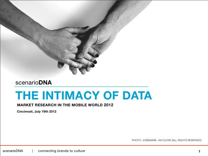 the-intimacy-of-data-preview by Tim Stock via Slideshare