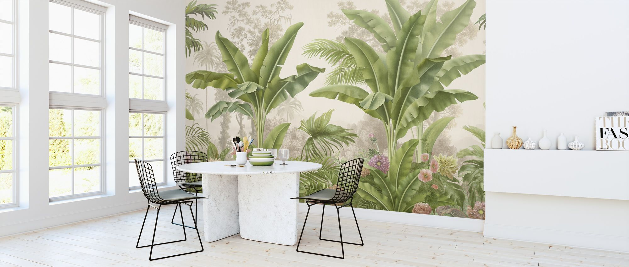 Tropical Bliss High Quality Wall Murals With Free Us Delivery Photowall In 2020 Wall Murals Green Wallpaper Wall Wallpaper