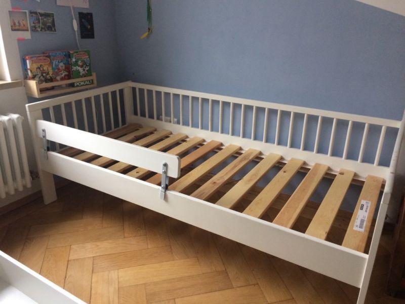 IKEA Kinderbett Gulliver (160x70) Inklusive Stützbrett Vikare.Am Fußende  Gebrauchsspuren Am Lack,