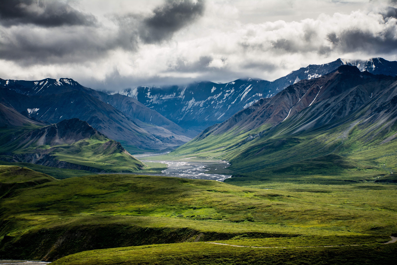 Denali National Park, Alaska, USA [6000x4000] #nature and Science