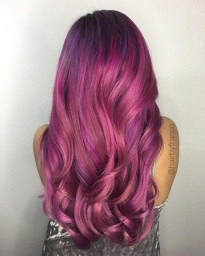 Chocolate Cherry Hair Color