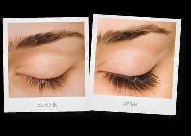 before  after eyelash extensions mascarabeforeandafter