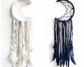 Purchase Dream Catchers Mini crescent moon dreamcatcher custom order please message 29