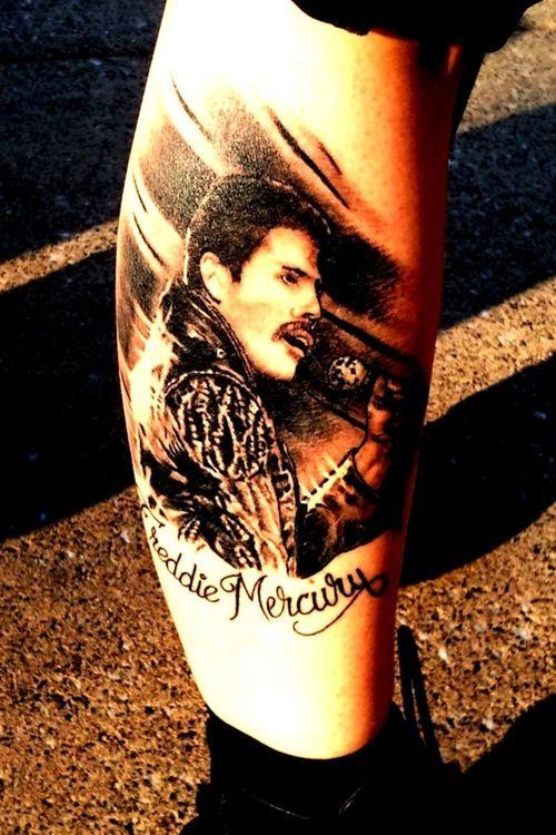 Freddie Mercury Tattoo Queen Ekkor 2019 Freddie Mercury
