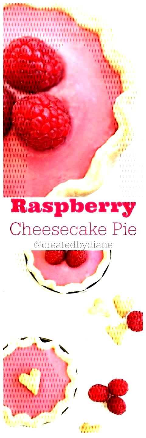 Raspberry Cheesecake Pies in ...
