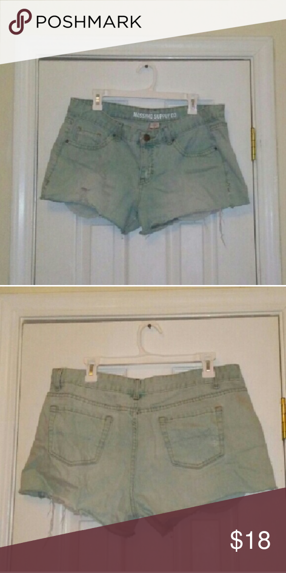 Mossimo Supply Co. Cut-off Shorts These are what I like to call festival shorts. Don't be shy about showing your legs off. These shorts are poppin'! Mossimo Supply Co. Shorts Jean Shorts