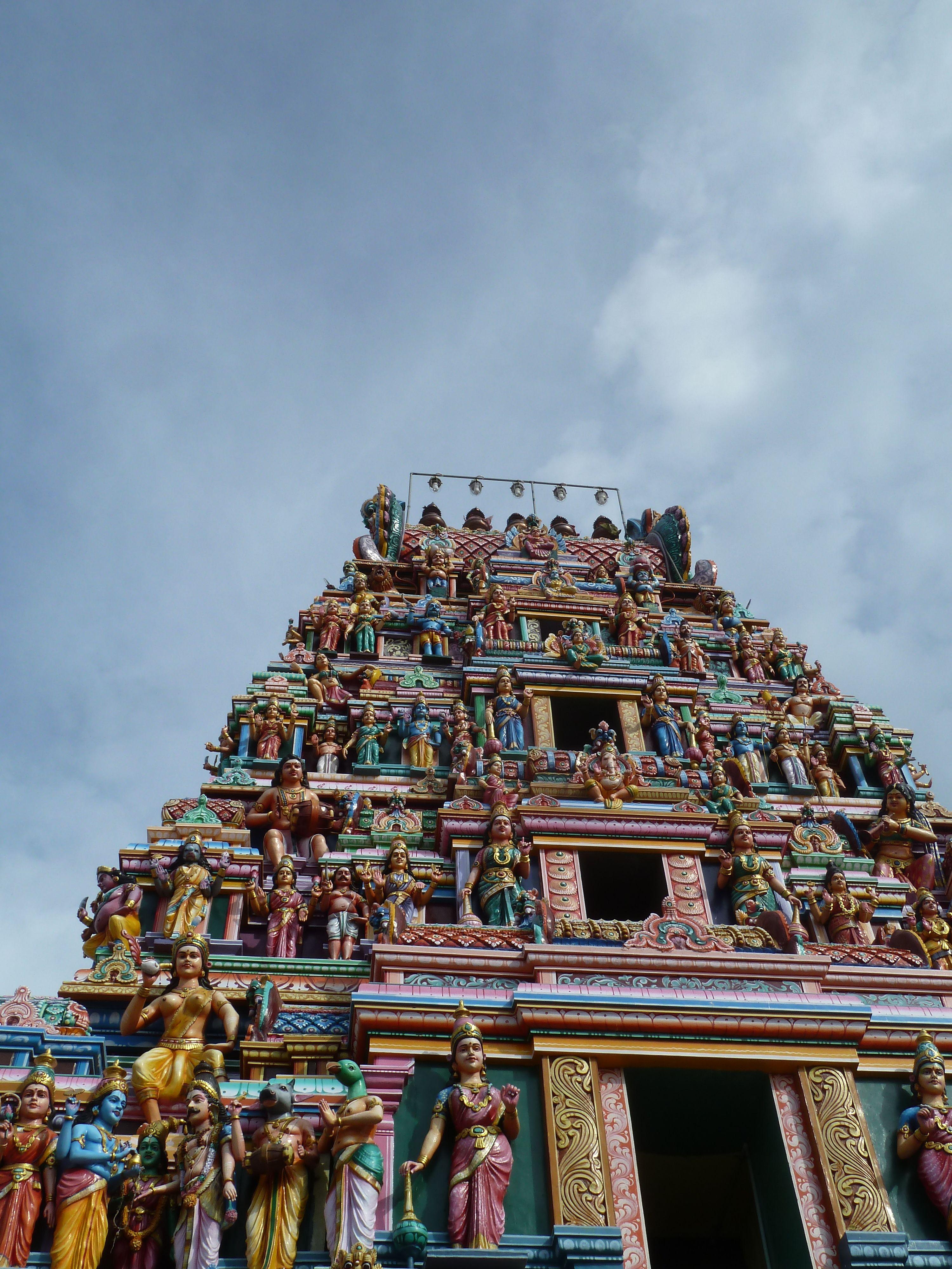 South indian kinda' temple...