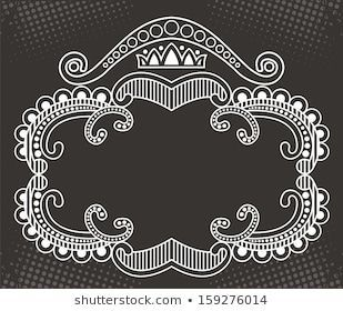 Vector Floral Frame Stock Vector (Royalty Free) 159276014 - #159276014 #floral #frame #Royalty #stock #vector - #Iran