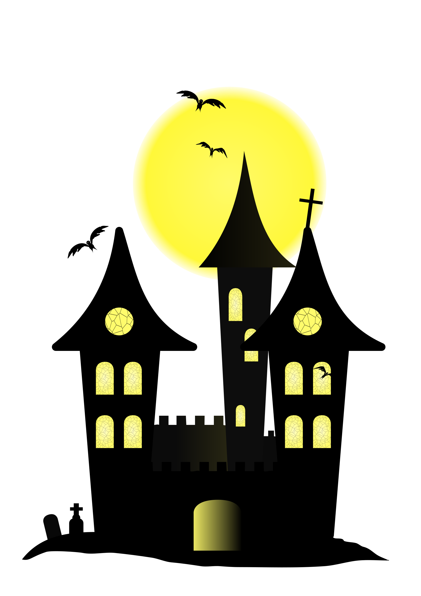 Halloween Castle by Ana., Halloween Castle, on
