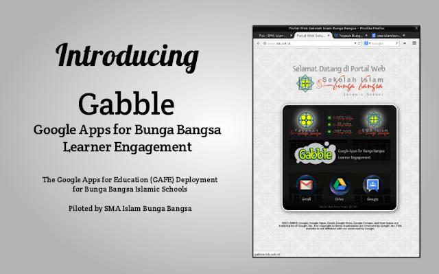 Perpustakaan Bunga Bangsa Gabble Implementasi Google Apps For Education Di Google Sma Bunga