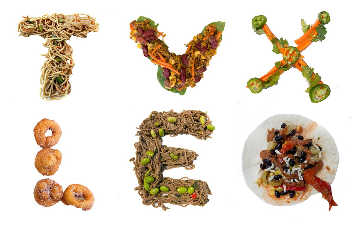 In order to show that the food font project can be made for Cuisine font