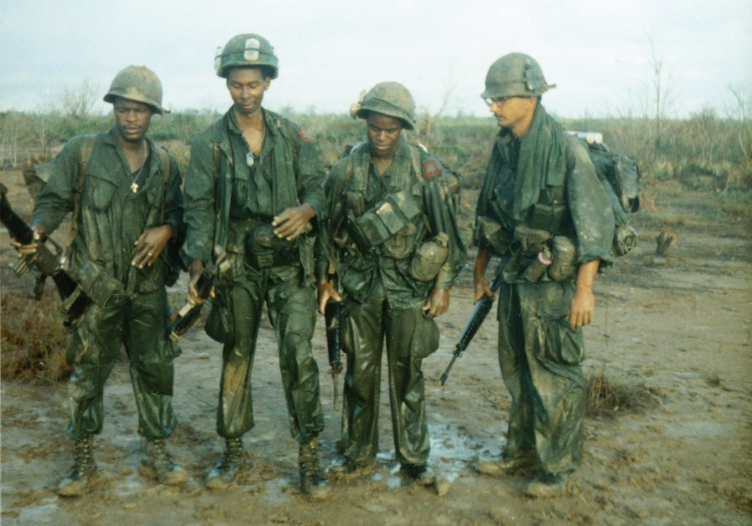 Four Grunts From Alfa Company S 4th Platoon This Picture