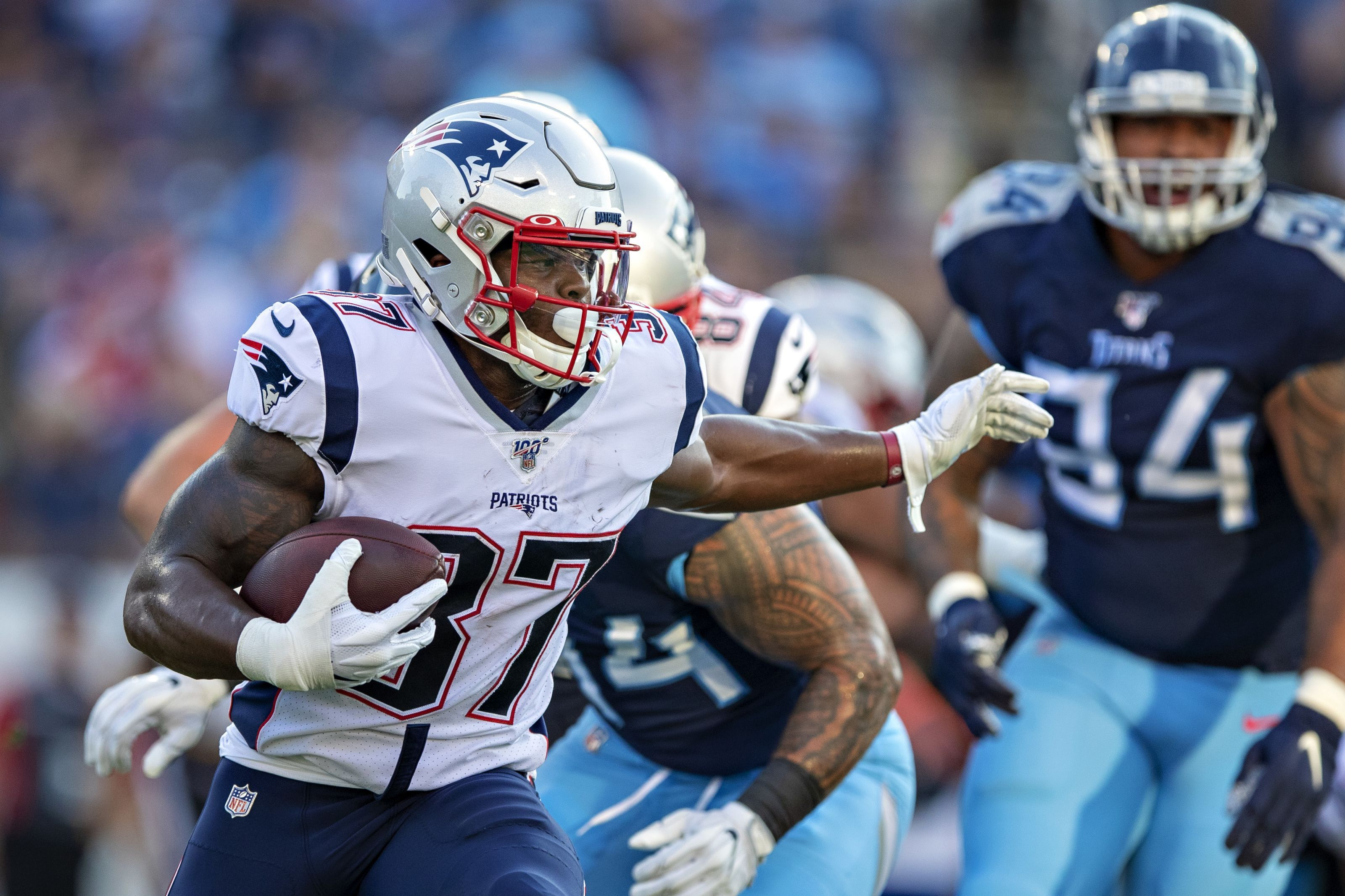 Why Haven T The New England Patriots Used Damien Harris Yet National Football League News Tennessee Titans Nfl News Nfl Preseason