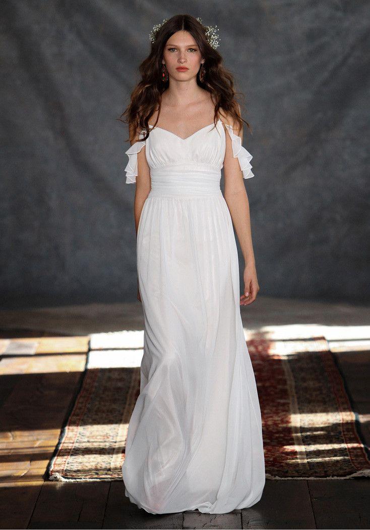 Ceylon wedding dress Romantique by Claire Pettibone runway full