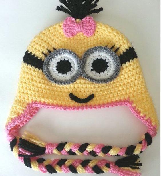 Gorro Para Nena Botas Pinterest Crochet Knit Crochet And Crafty
