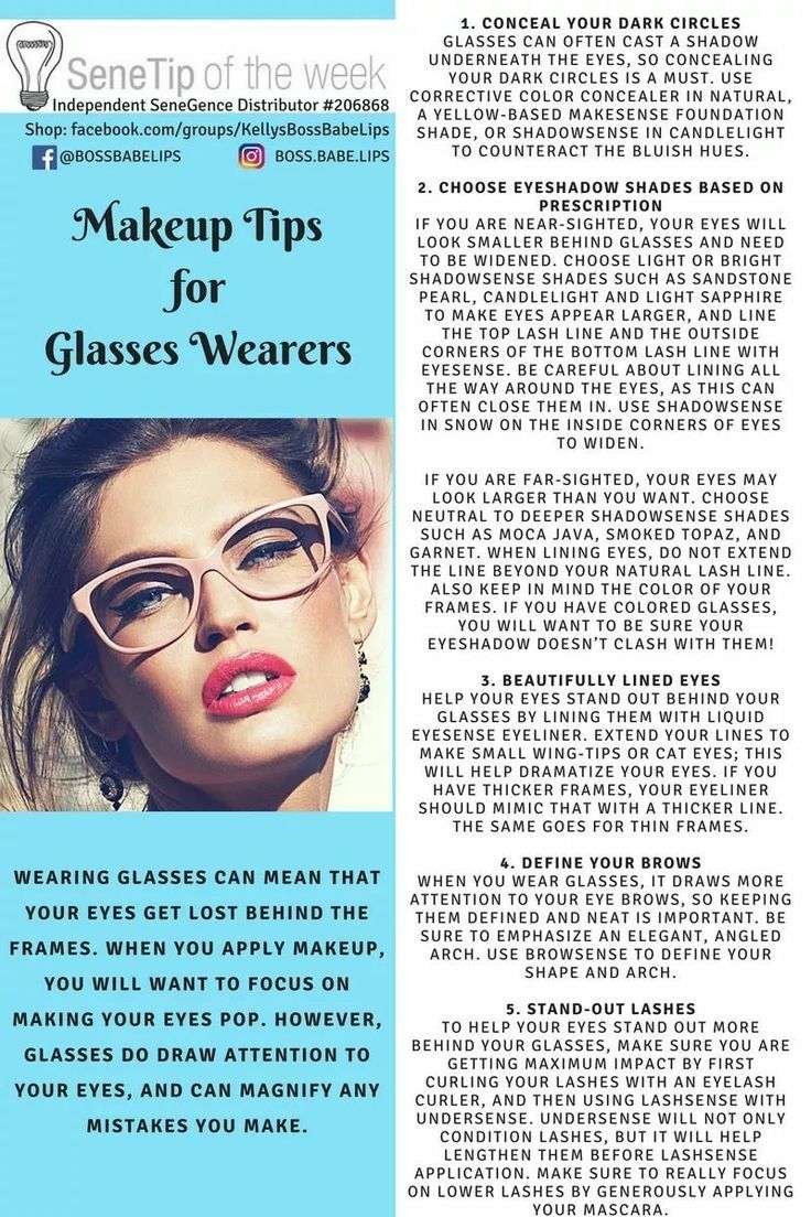 Makeup Tips For Glasses Wearers Makeup Pinterest Make Up And