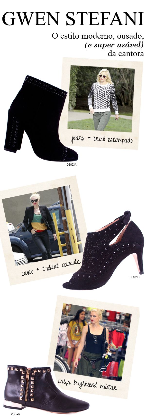Guia de estilo: Gwen Stefani