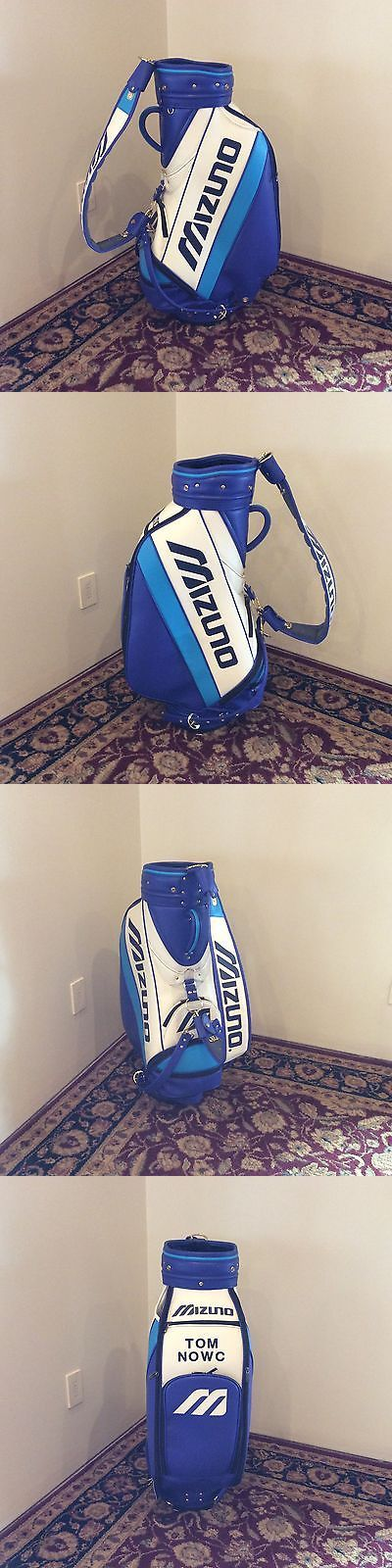 Golf Club Bags 30109: Mizuno Staff Golf Bag Blue And White Brand New!!! BUY IT NOW ONLY: $125.0