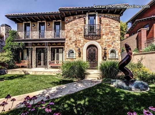 Luxury Home Magazine of Denver #LuxuryHomes #Entrance
