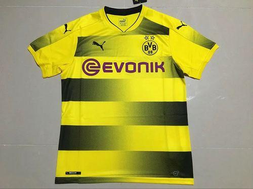 37f40f237ae ... Thai quality 17 18 Borussia Dortmund jersey 2017 2018 Dortmund soccer jersey  AUBAMEYANG GOTZE MOR KAGAWA ...
